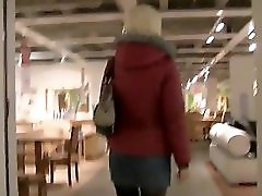 Public Blowjob From German Slut In Furniture Shop