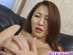 Yuki Touma Fondles Her Hot Cans