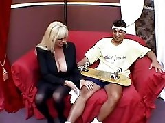 Penny Porsche And A Young Guy
