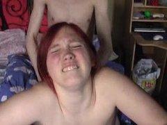 Redheaded Busty German Teen Girl