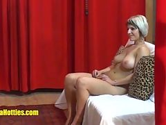 Busty Czech Teen Fucks Big Cock At The Casting