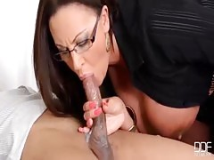 Office Adventures My Boss Is A Cock Sucker Milf