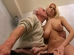 Grandpa Fucks With Busty Teen