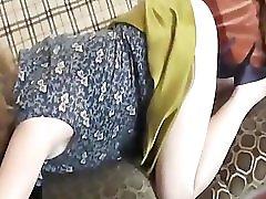 Mature Upskirt In White Cotton Panties