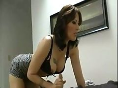 Mature Woman Jerks Young Boy's Dick Dadi
