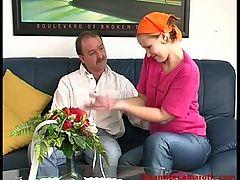 Blonde German Housewive Licked & Fucked