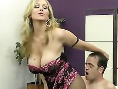 Milf Julia Ann Teases Slave With Her Feet