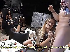 Crazy Amateur Wives Sucking Strippers Big Cocks At Hen Night
