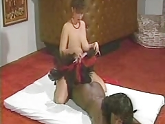 1980s Classic 3some With A Black Girl