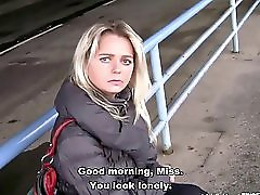 Bitch Stop Czech Milf Picked Up At The Bus Station