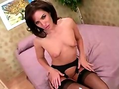 Z44b 1703 Milf In Purple Nightie Pov