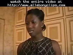 Ebony woman has threesome black ebony cumshots ebony sw