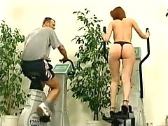 Lenka Visits The Gym And Receives A Hardcore Workout