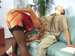 Office Anal Blonde