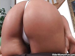 Soccer Mom Phoenix Marie Gets Facial