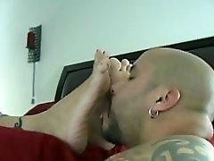 Milf Getting Her Feet Worshipped
