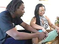 Hot Ebony Bbw Blowjob