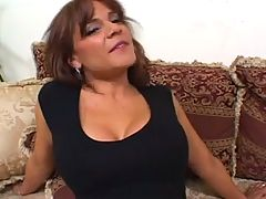 Busty Danni Daire Fucks On A Refined Sofa