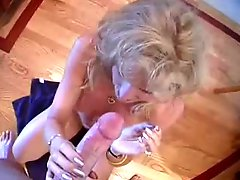 Hot Milf Swallows A Load Down Her Throat!