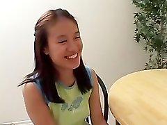Mature Seduces Asian Girl