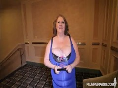 Busty Bbw Award Winner Milf Sapphire Fucks At Bbwcon