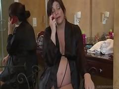 Milf Babe&nbsp Elexis Monroe Helps Alicia Silver Cum