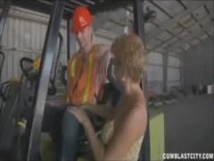 Sucking The Worker&#039 S Boner