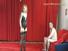 Milf Agent Whore Gives Bj To Youngster With Long Dick