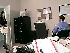 Big Tit Brunette Slut Boss Anal Dp Fuck Big Dicks In Office Orgy