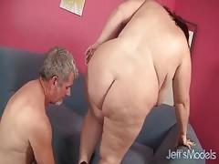 Big Boobed Mature Bbw Lady Lynn Gets Her Pussy Reamed Hard