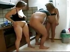 Mom & Daughter Pay The Plumber