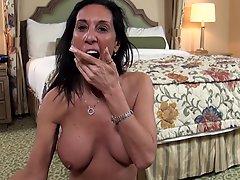 Big Tits Cougar Milf Fucks Pov