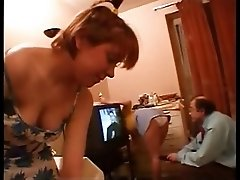 Two Teens Tease And Old Man