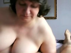 Deep Anal Drilling #12 Chunky Booty Granny