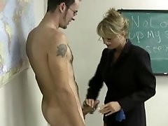 Milf Teaches Guy New Handjob Styles