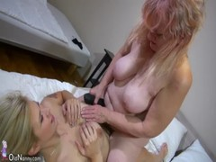 Oldnanny Hot Step Mom Lesbian Fuck With Strapon