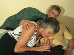 Creaming mature pussy with much cum